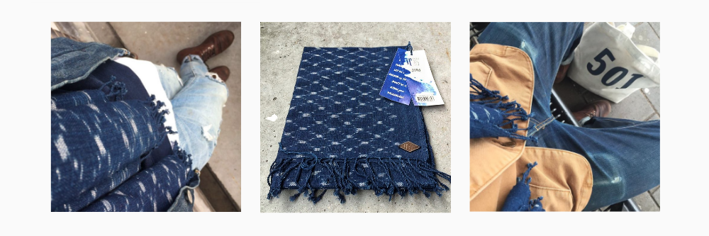 IP Shawls Jeroen - Blue Roots Official
