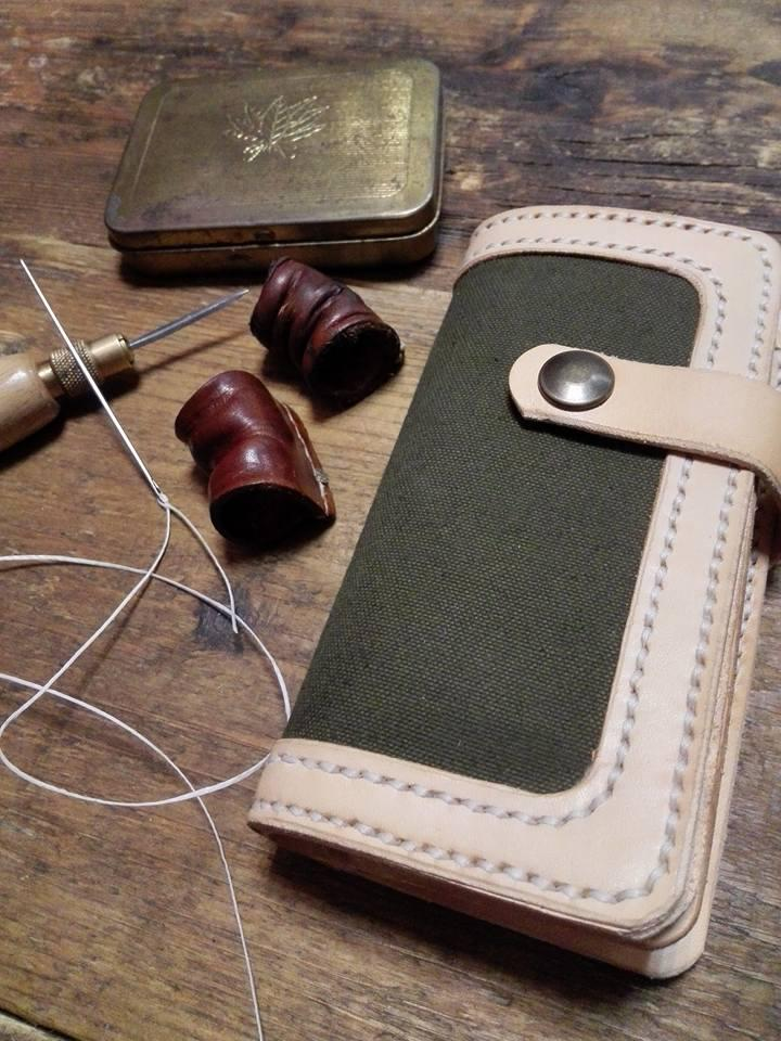 South Craft Leather Army - Blue Roots Official