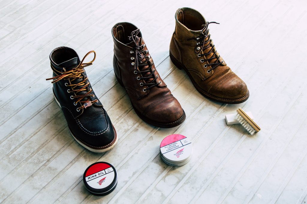 Red Wing Shoe Care 2 - Blue Roots Official